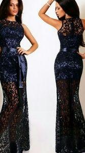 SEXY BLUE NIGHT OUT DRESS